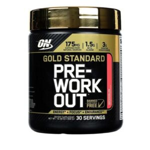 OPTIMUM NUTRITION GOLD STANDARD PRE-WORKOUT – FRUIT PUNCH 30 EA