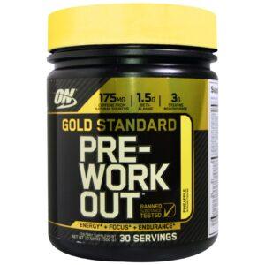 OPTIMUM NUTRITION GOLD STANDARD-PRE WORKOUT