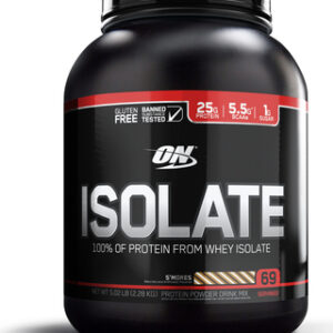 OPTIMUM NUTRITION ISOLATE-VANILLA-SOFTSERVE