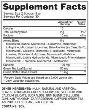 OPTIMUM NUTRITION TEA SERIES ESSENTIAL-AMINO ENERGY