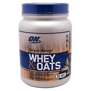 OPTIMUM NUTRITION-WHEY OATS